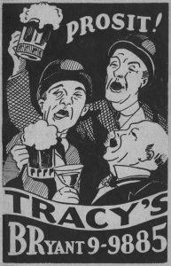 Prohibition Price List Cover Design